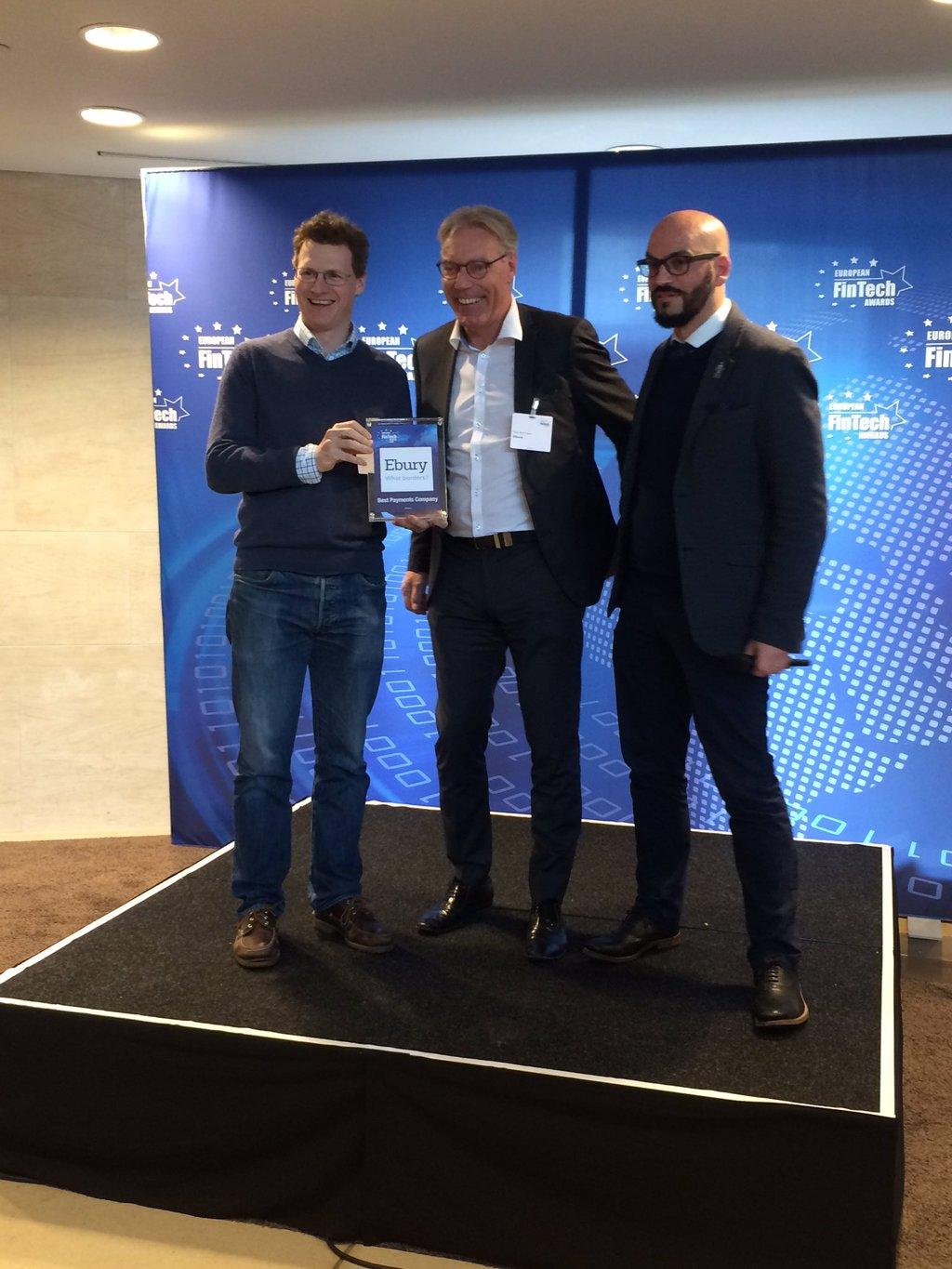 EU FinTech Awards Winner Toby-Rob