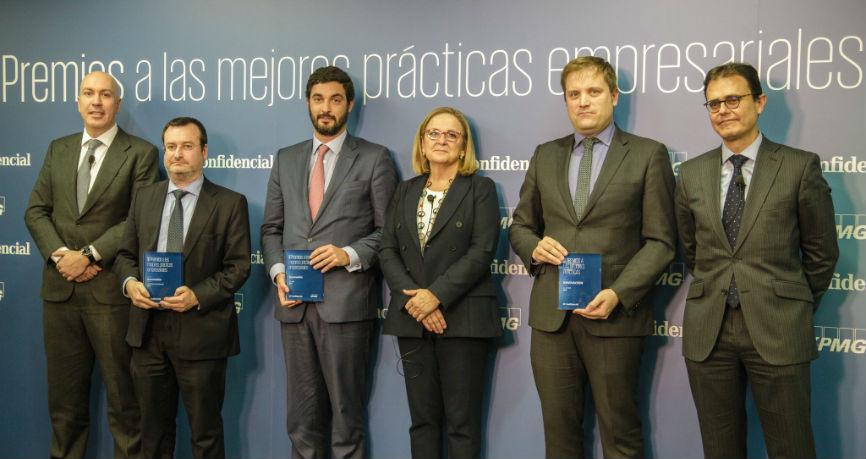 Ebury Entrega premios el Confidencial y KMPG a la innovacion