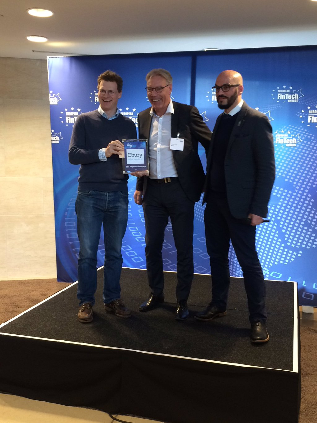 EU FinTech Awards Winner Toby-Rob