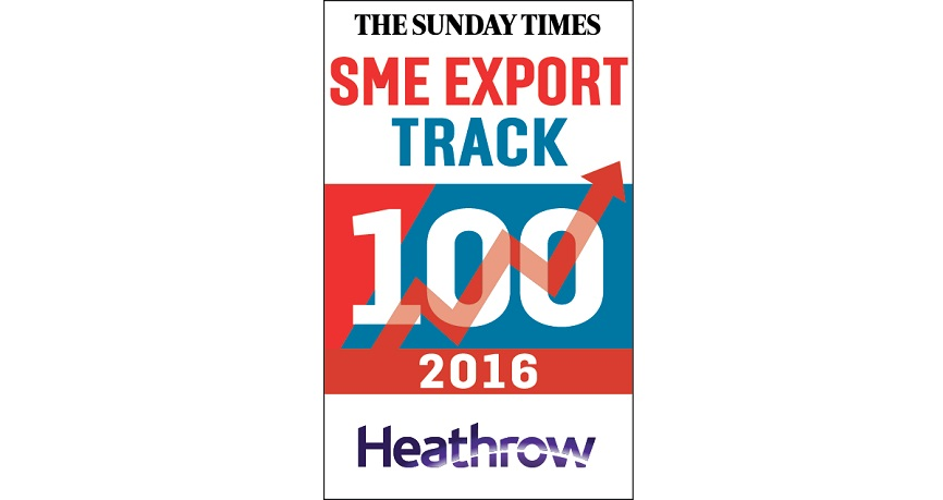 Ebury ranked 8th in Sunday Times SME Export Track 100