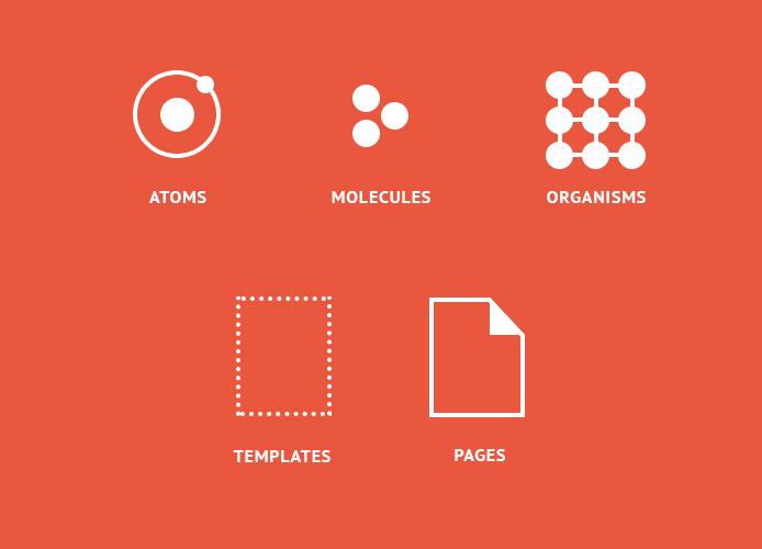 Atomic design structure