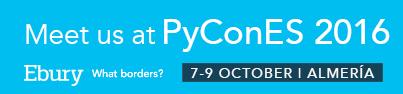 Ebury PyCon Banner