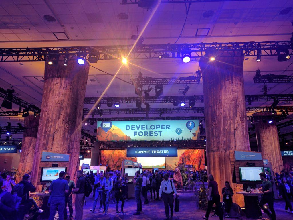 Developer Forest at TrailheaDX