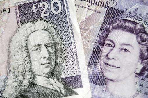 Schotse en Engelse ponden