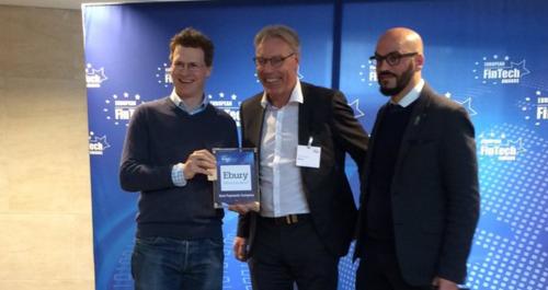 Ebury se alza con el premio a la Mejor Fintech Europea de Pagos en 2016