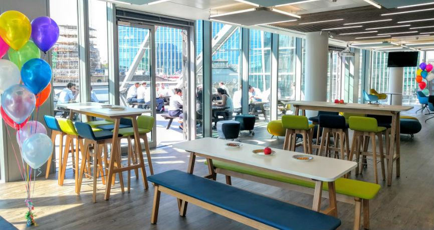 Nueva sede central en Londres, que seguirá acogiendo el continuo crecimiento de Ebury