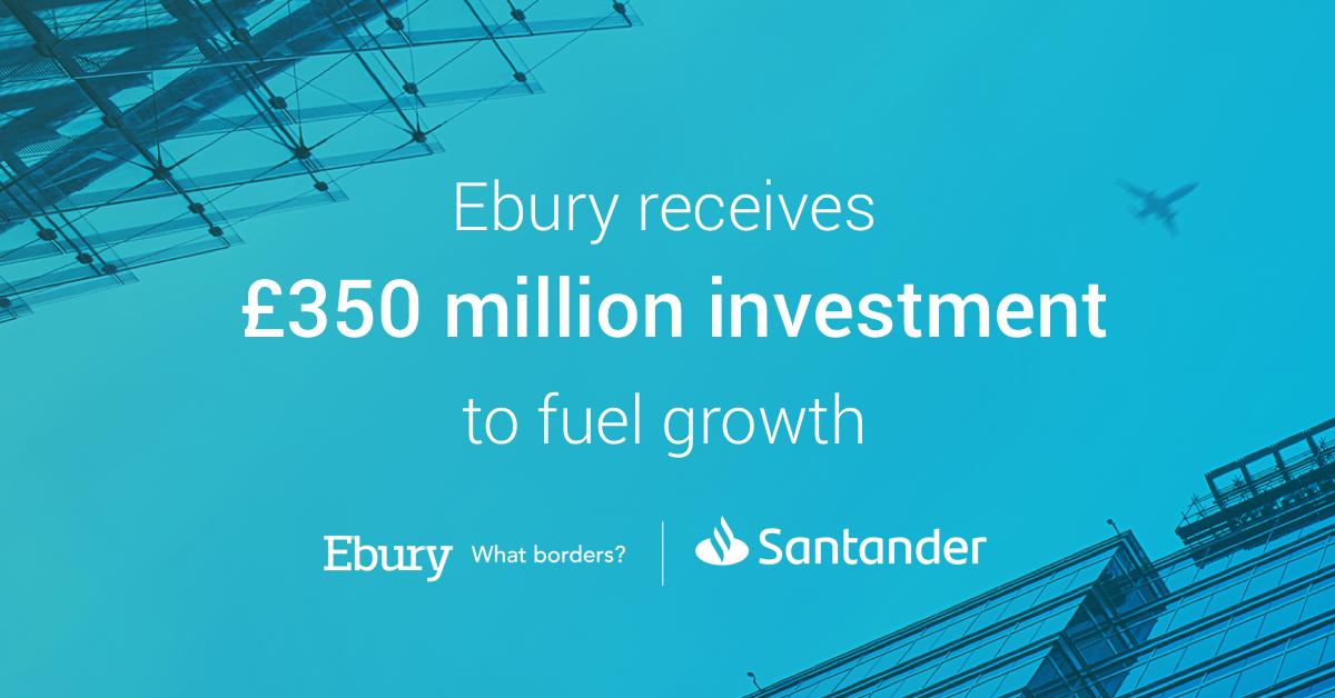 Santander inwestuje ponad 1,7 mld zł w Ebury